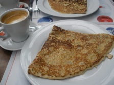 Crepe with Crème de Marron