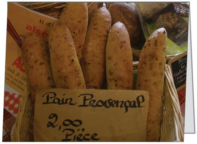 French Bread Notecard Large